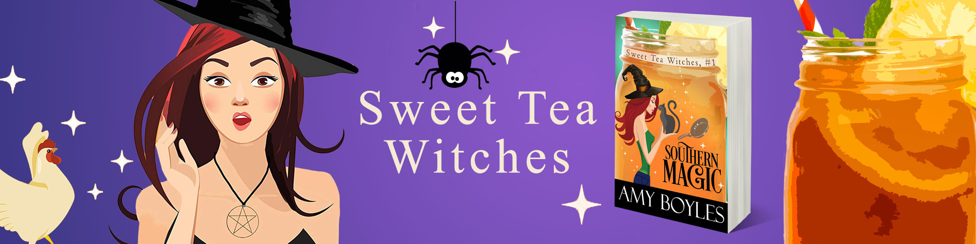 Sweet Tea Witches